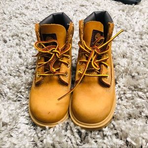 Timberland Classic 6 Inch Toddler Boys Size 8 Boot